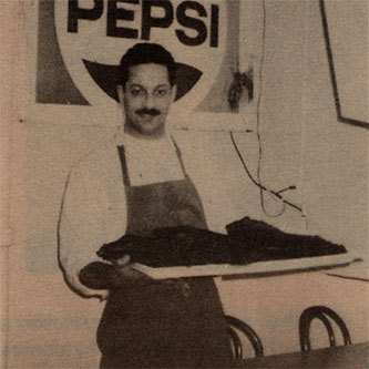 Albert G, bar-b-q, Pepsi, smoked meat