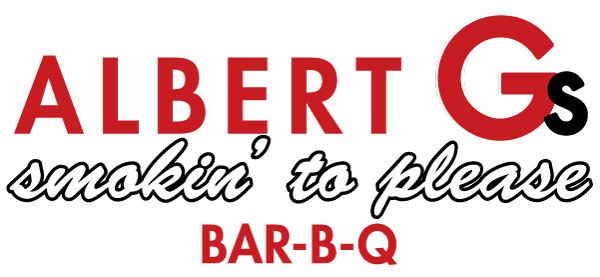 Albert G's, logo, bar-b-q