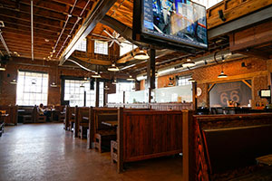 seating, restaurant, interior, Albert G's Downtown, bar-b-q