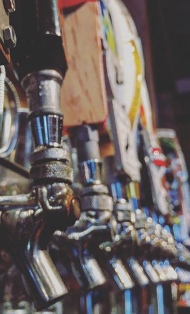 beer taps, bar, drinks, on tap, refreshing